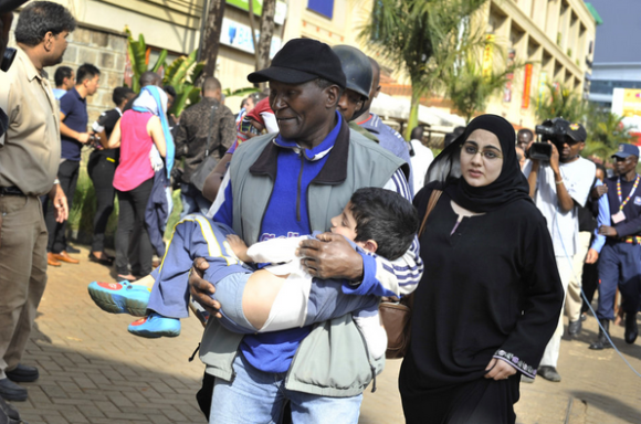 Kenyan Mall Attack Rescue