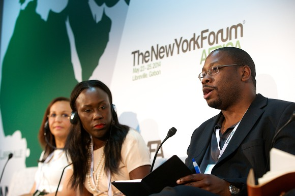 Jon Gosier at NY Forum Africa 2014